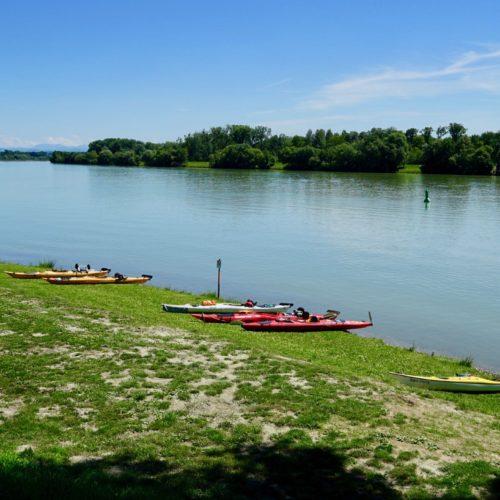 Dienstag, 3. Juli 2018 63. TID, Mittagsstation Au an der Donau, km 2108 links
