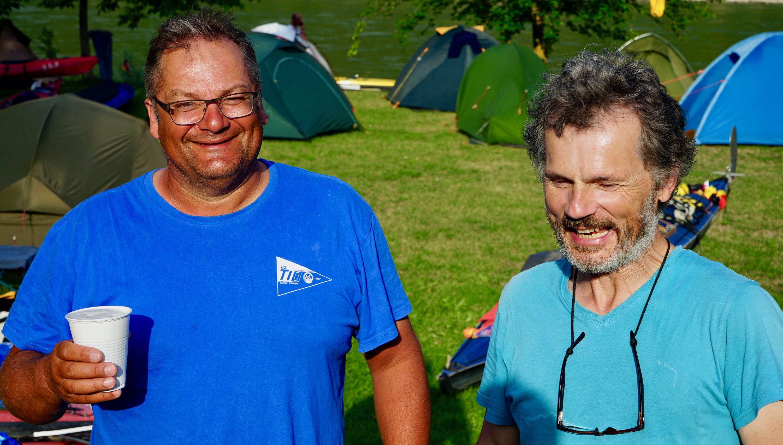 Donnerstag, 5. Juli 2018 63. TID, in Aggsbach Markt beim Grillmeister Otti, km 2017 links