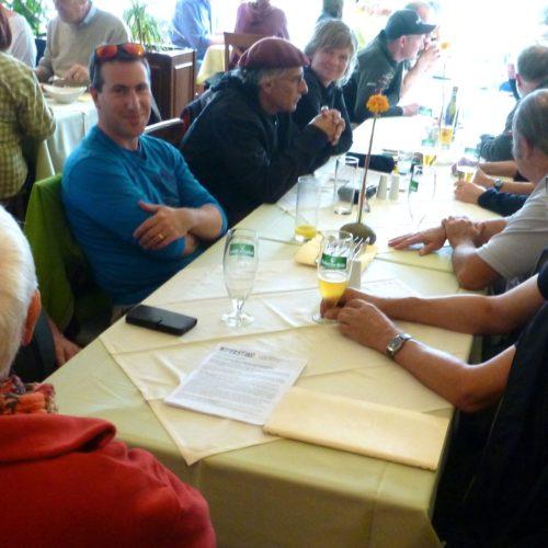 TID-Treffen 2018 Hainburg Mittagessen in Orth an der Donau