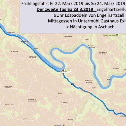 Der zweite Tag bietet viel Zeit für die Schlinge, eine Anreise nach Engelhartszell oder Schlögen ist mit den Schichtbussen der vorest sehr flott und günstig möglich, 6h. 14h. und 22h täglich
