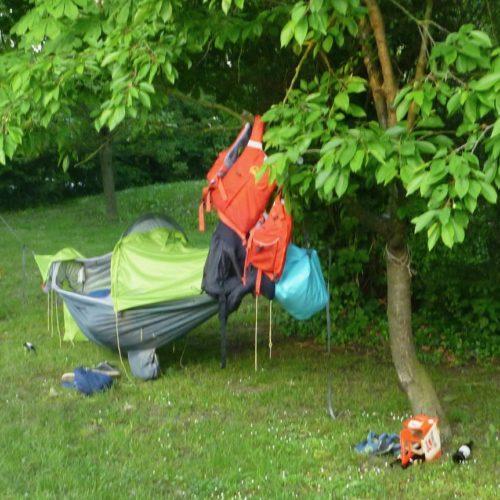 Der Campingplatz Tulln hat zur Vorsaison jede Menge Platz