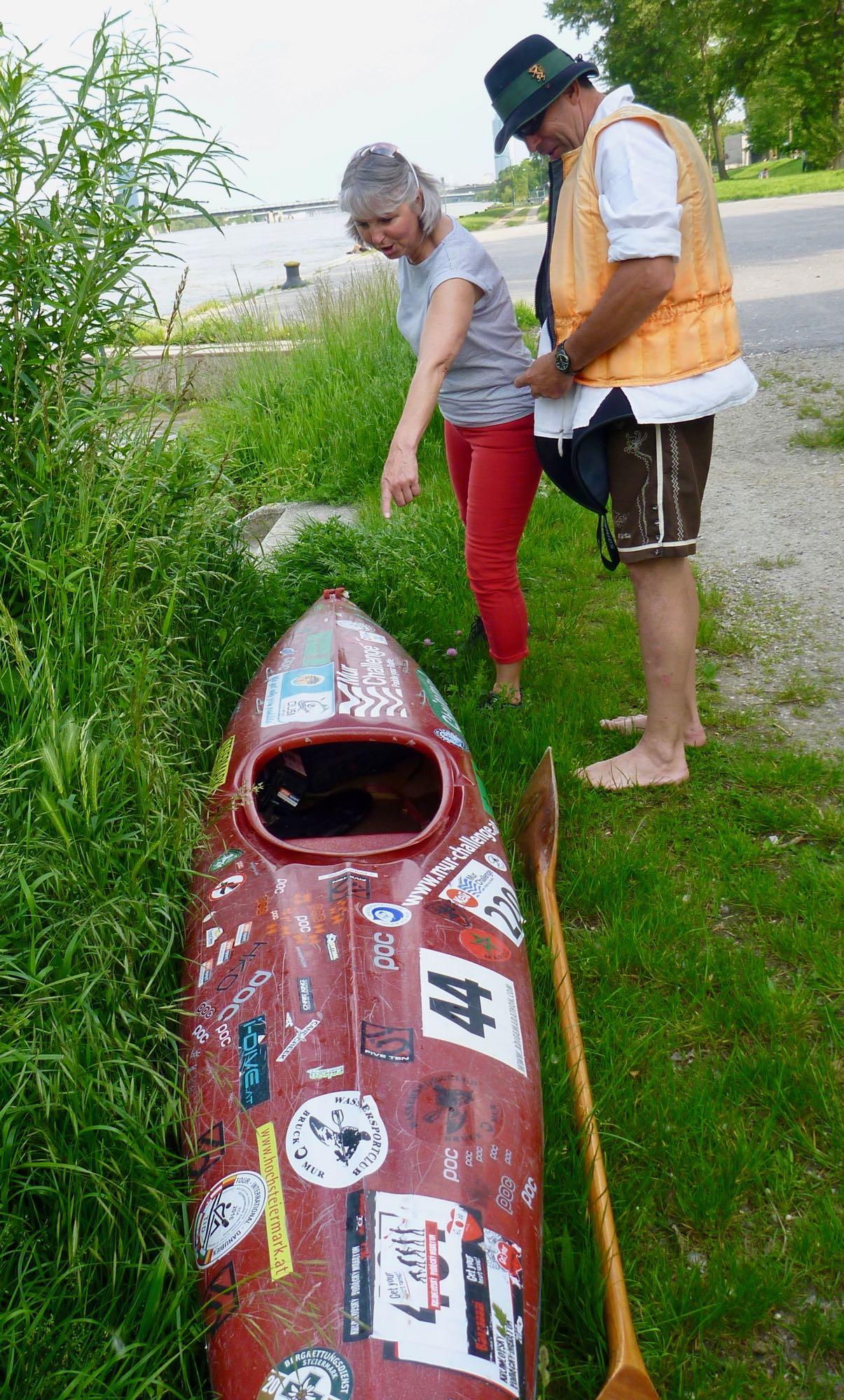 Viele Details an den historischen Booten