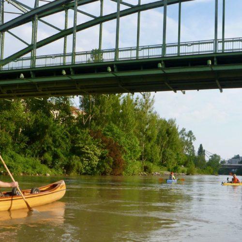 Viele Brücken hat der Donaukanal