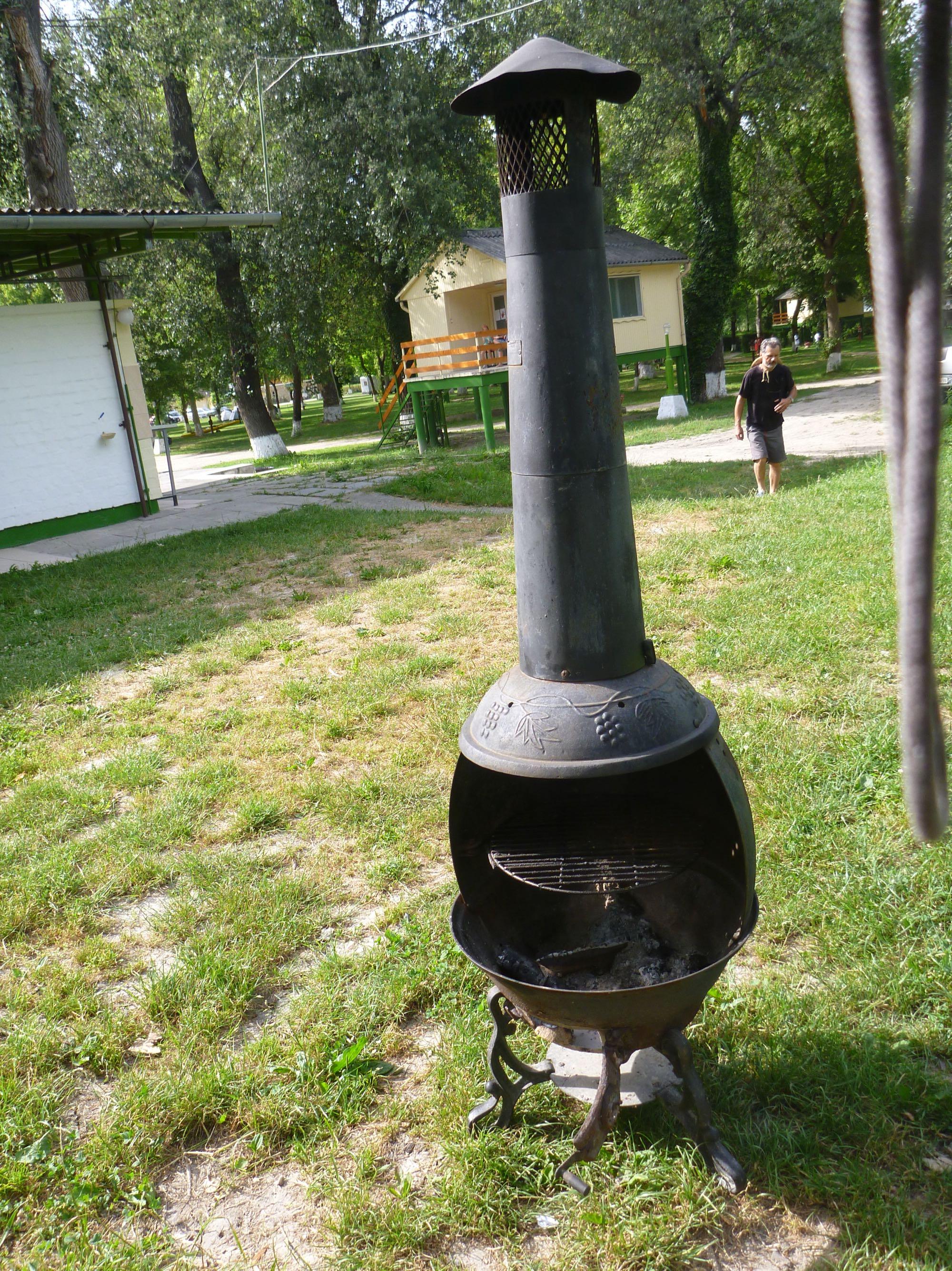 und bald erreichen wir den Campingplatz Szentendre