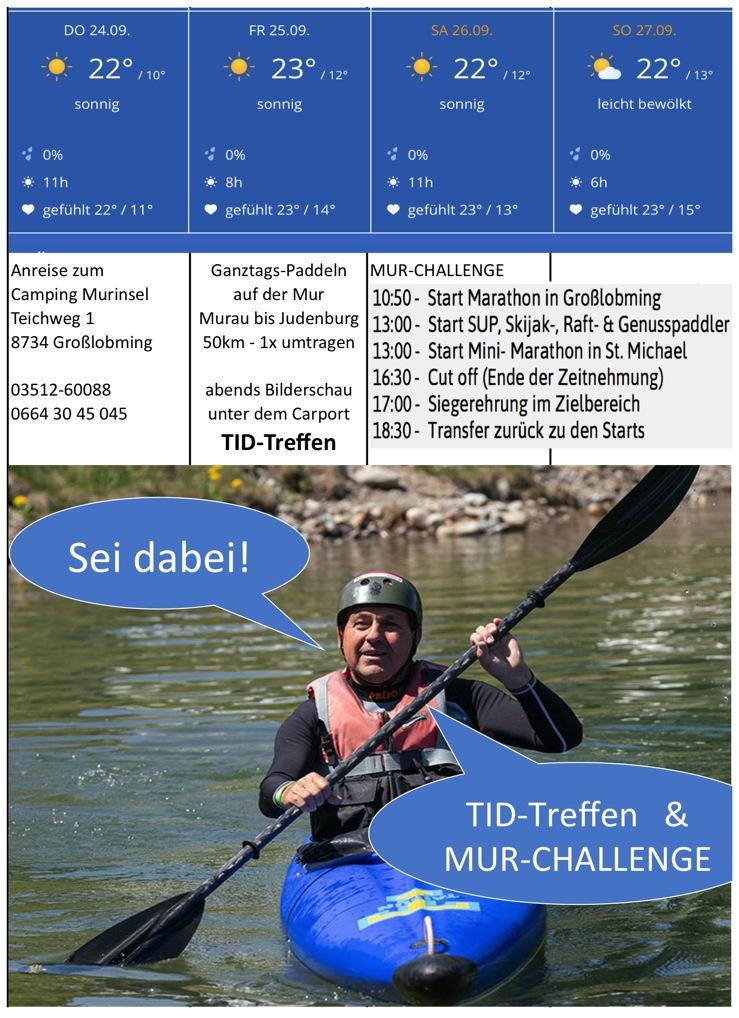 Mehr siehe www.mur-challenge.at